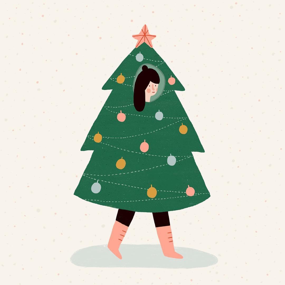 Christmas outfit by Karin Bijlsma via Instagram