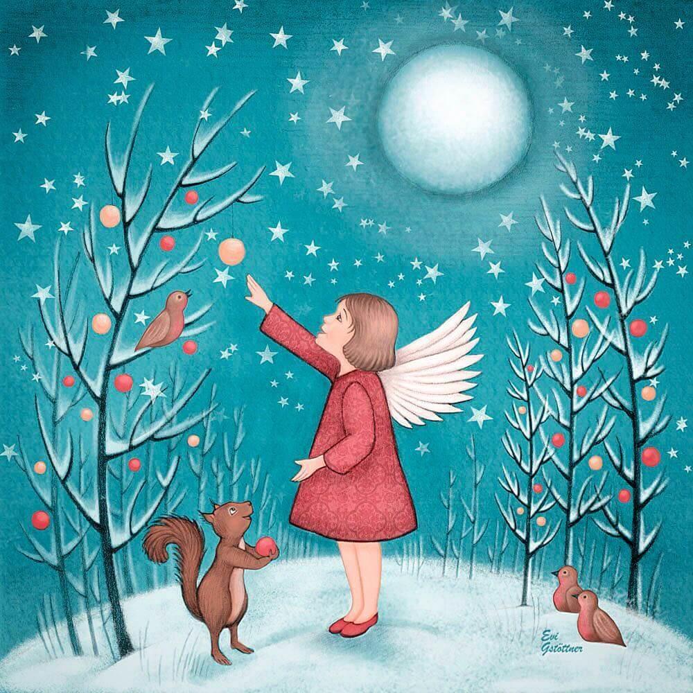 Christmas card design by Evi Gstöttner via Instagram