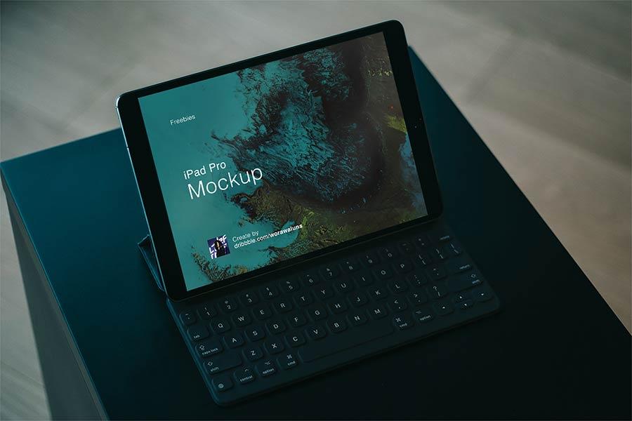 Free iPad Mockup PSD & Sketch
