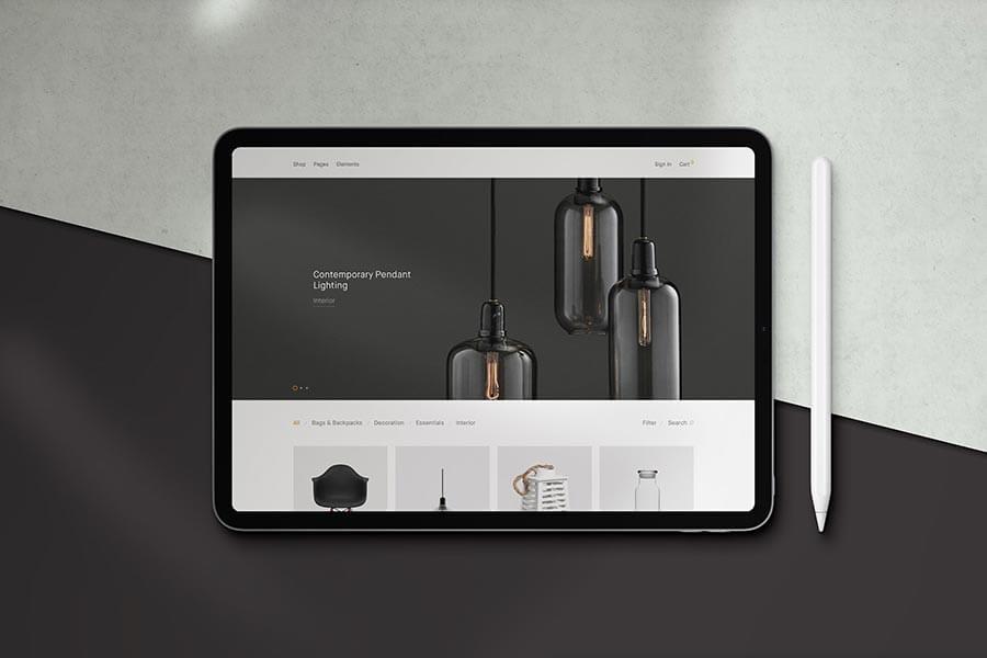 Molo — iPad Pro Mockup Scene Creator