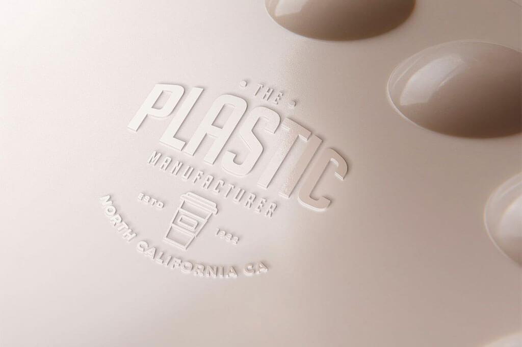 Plastic Logo Mockups