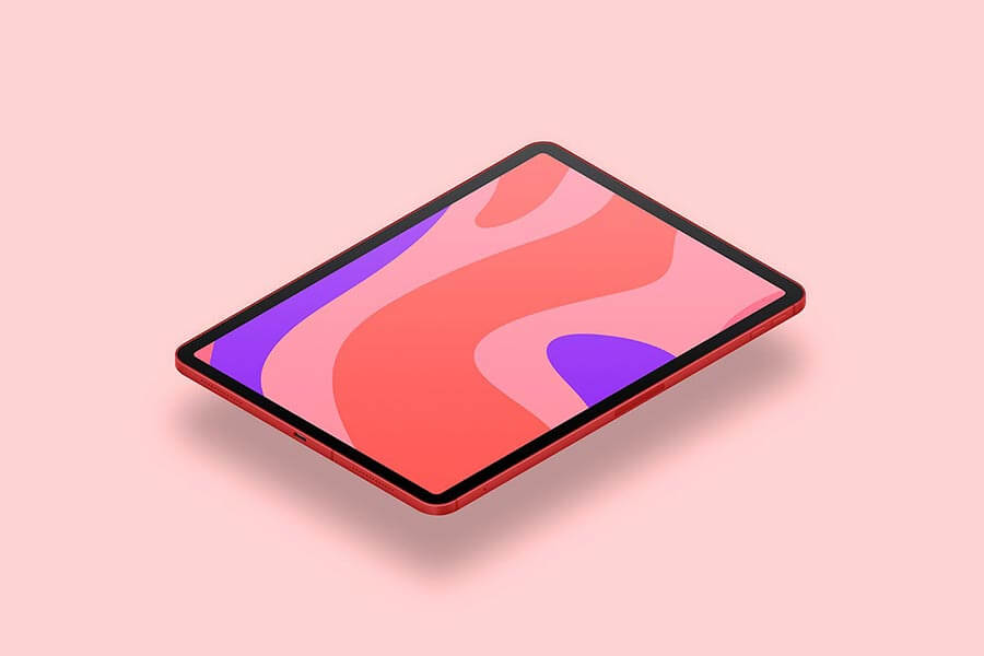 Tablet Pro 2018 — 12 Tablet Mockup Templates