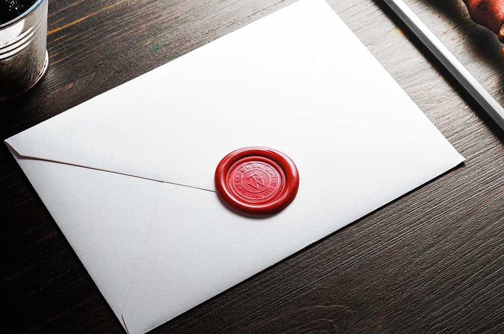 Wax Seal Logo Mockups