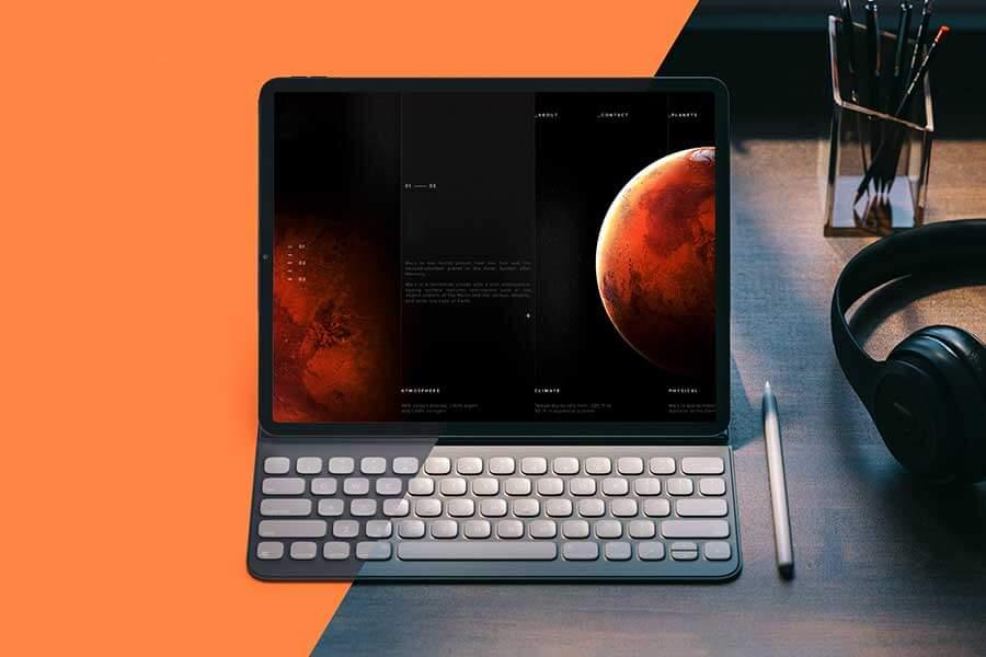 iPad Pro 2019 — Free iPad Mockup Template