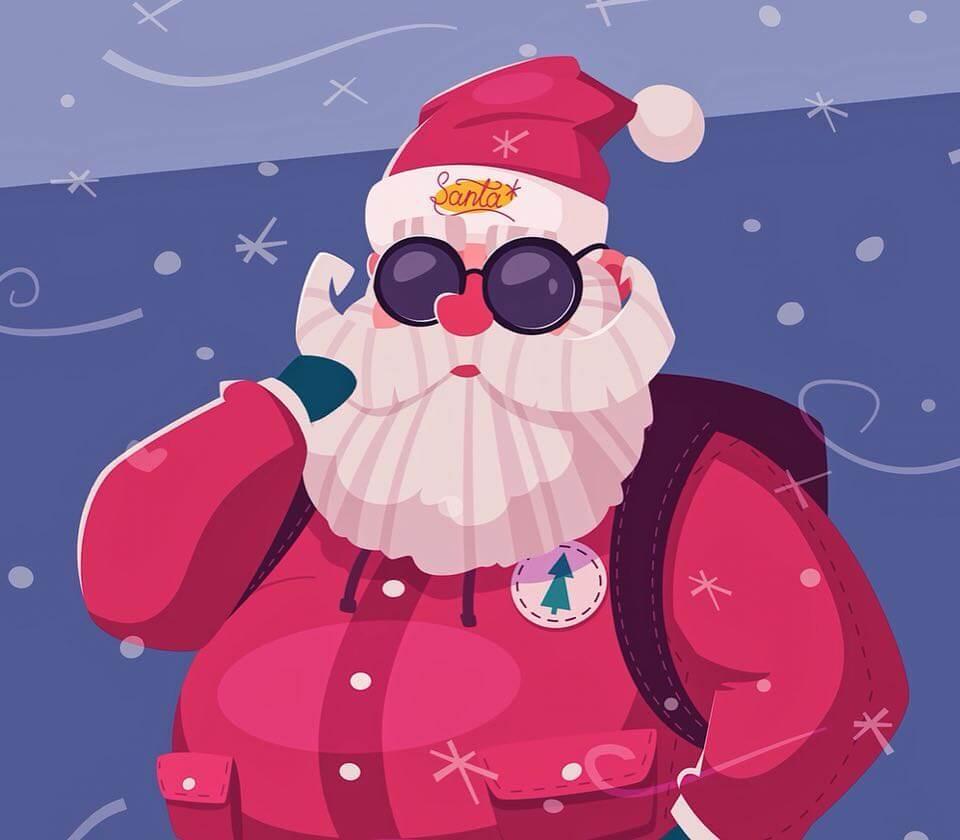 Santa Claus by Dmitry Moiseenko via Instagram