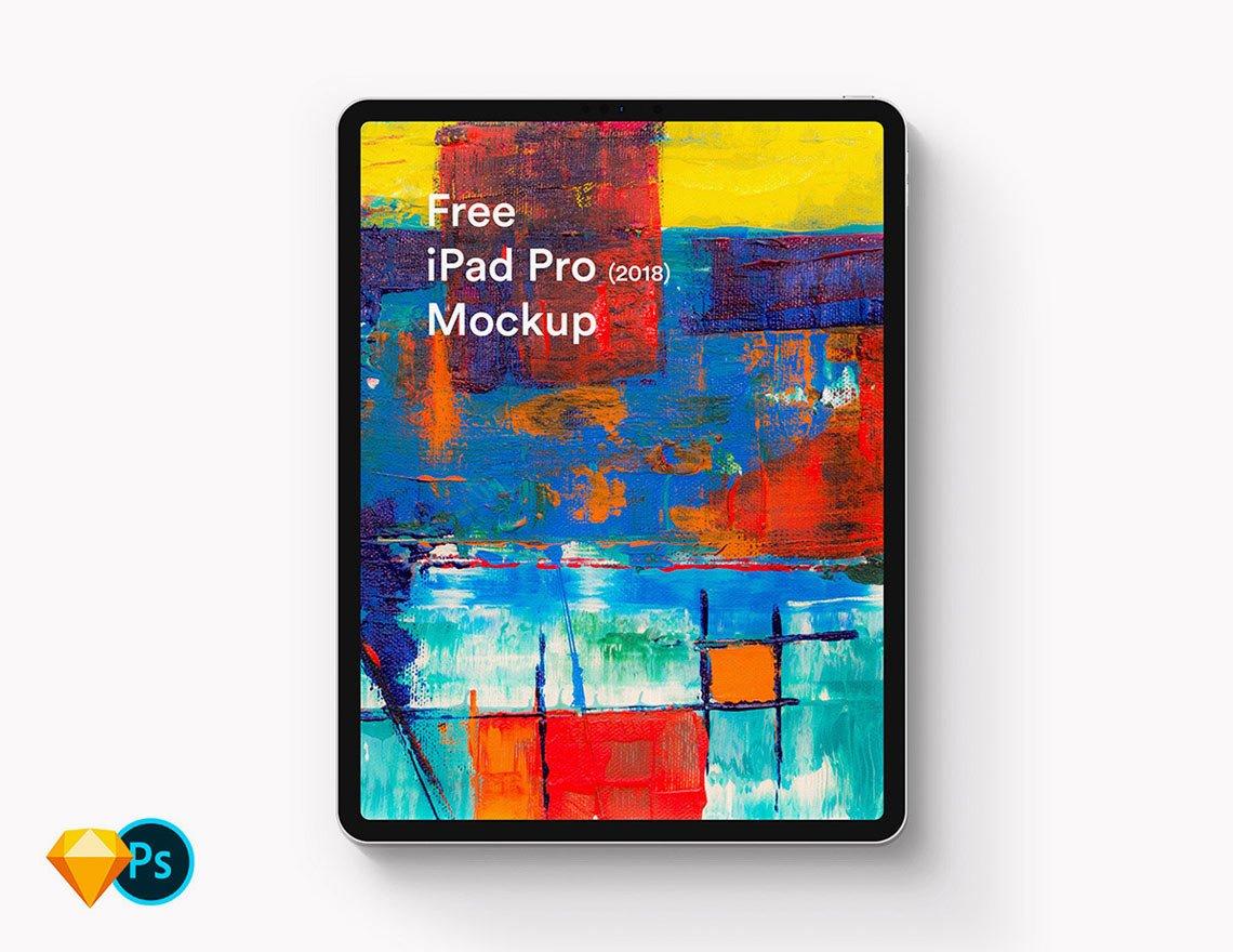 Free iPad Pro 2018 Mockup by LS