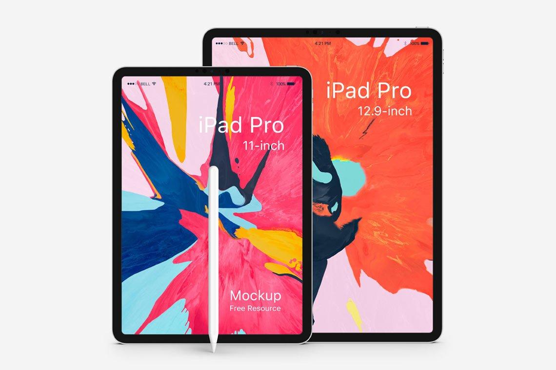 Free Vector iPad Pro Mockup