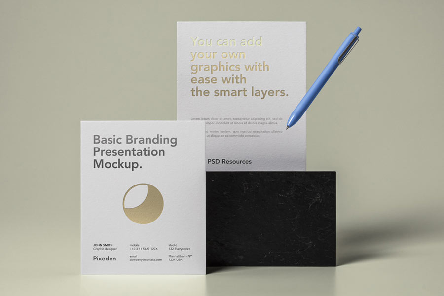 Basic Stationery Branding Vol. 27