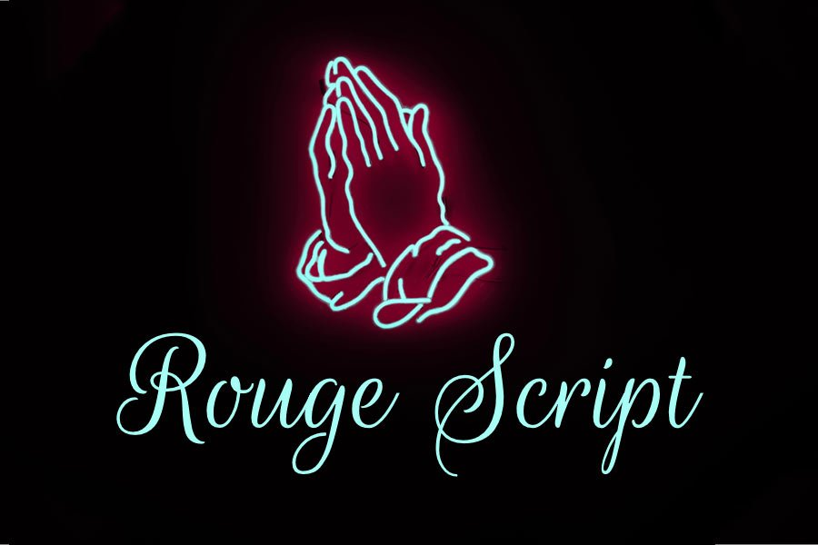 Rouge Script free calligraphy font