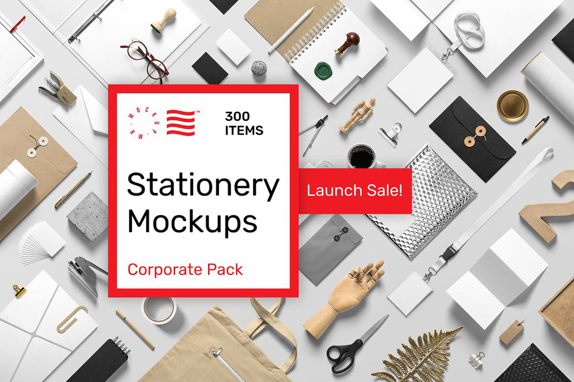 Stationery Mockups — Corporate Pack
