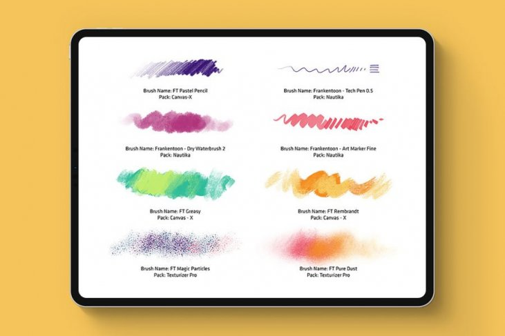 20 Procreate Brushes to Create Moving Designs - The Designest