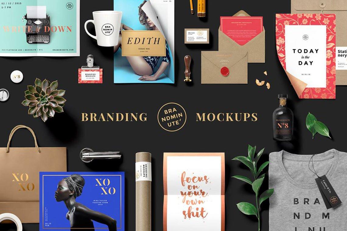 Brandminute Branding Mockup Set