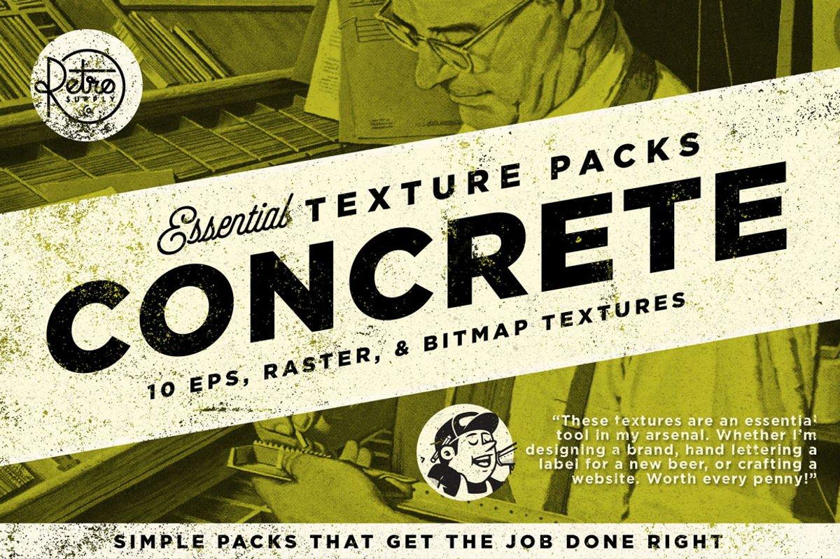 Concrete Essential Texture Pack