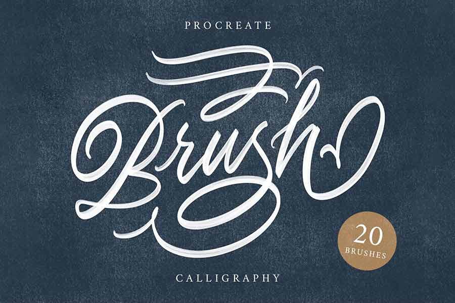 Calligraphy Procreate Brush