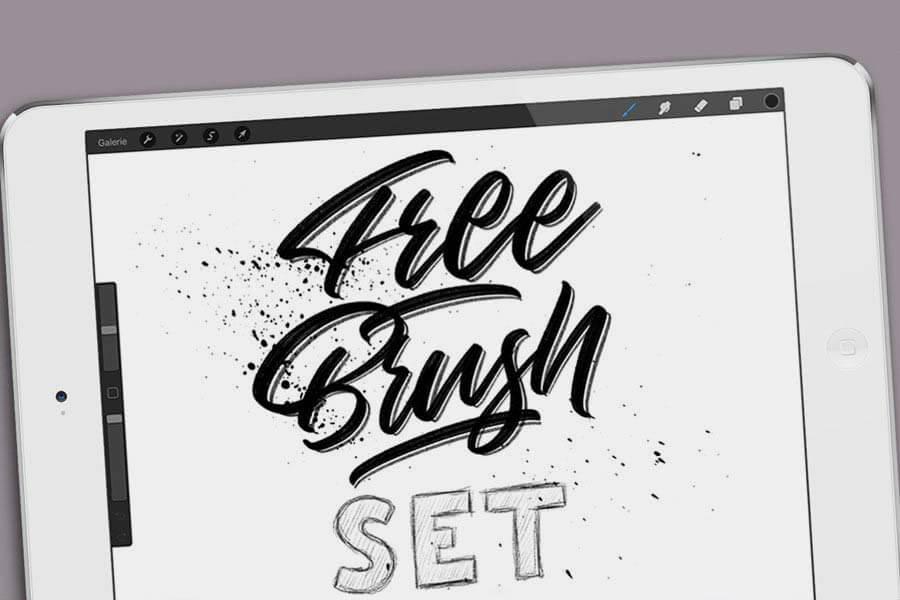 Free Procreate Brush Set