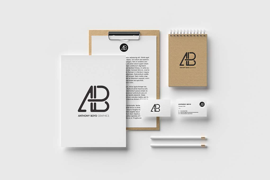 Modern Branding Mockup