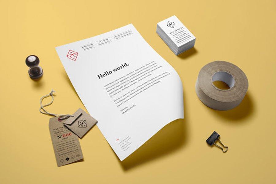 Office Free Branding Mockup
