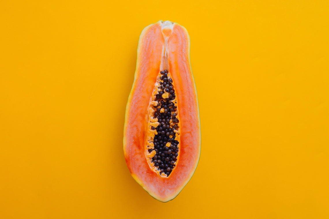 Papaya photo food wallpaper by Charles Deluvio