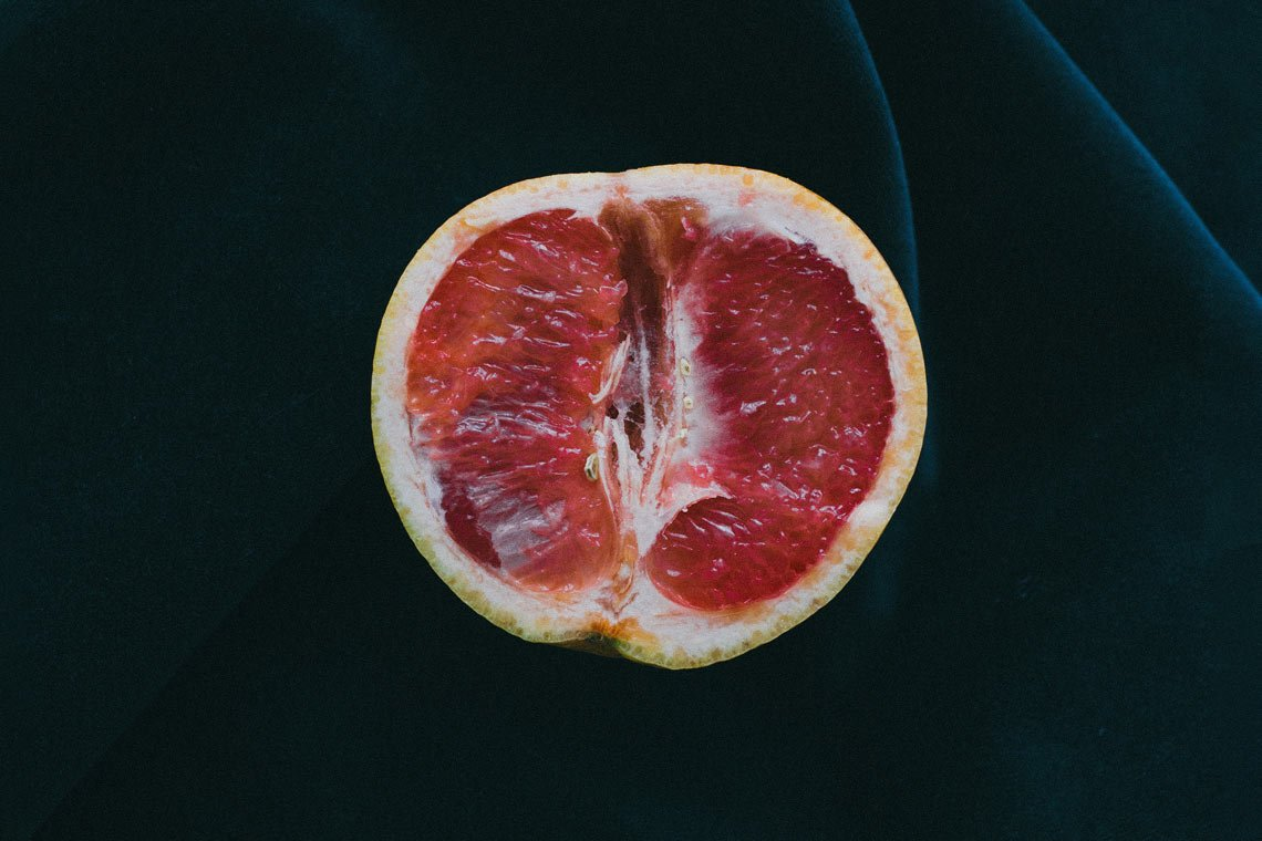 Grapefruit photo food wallpaper by Charles Deluvio