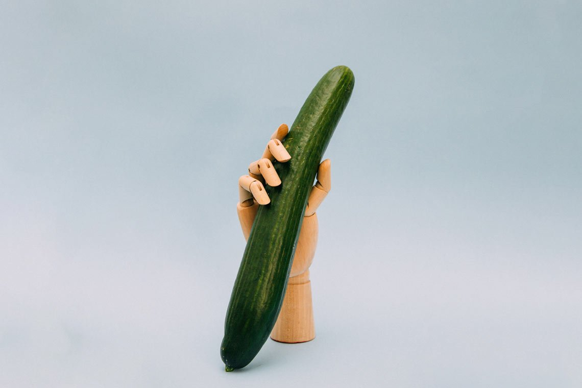 Cucumber photo food wallpaper by Charles Deluvio