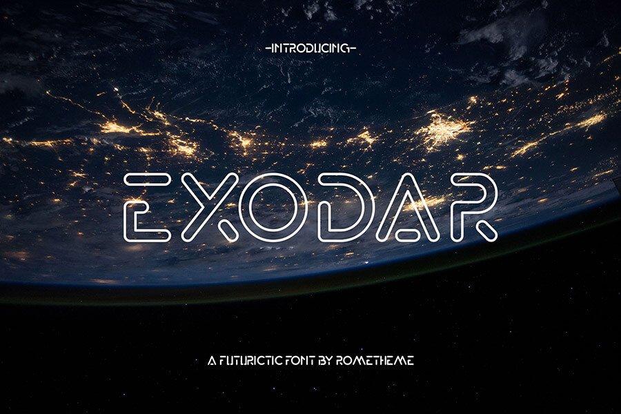 Exodar – Sans Serif Font