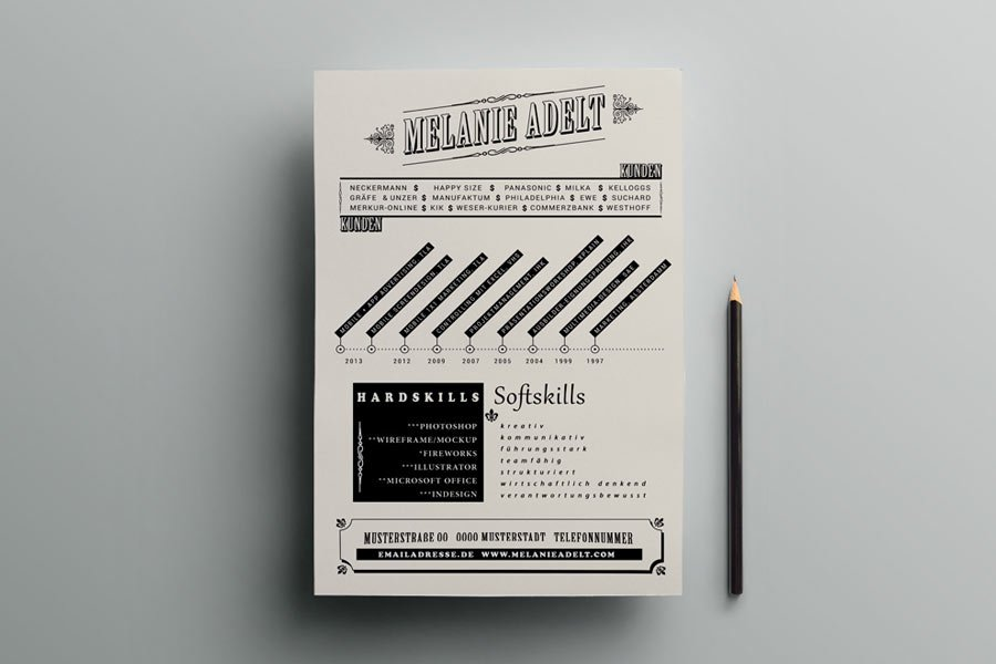 Artistic Resume Template