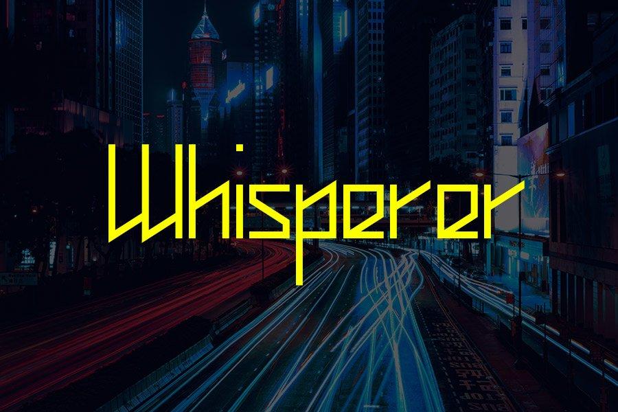 Whisperer Font