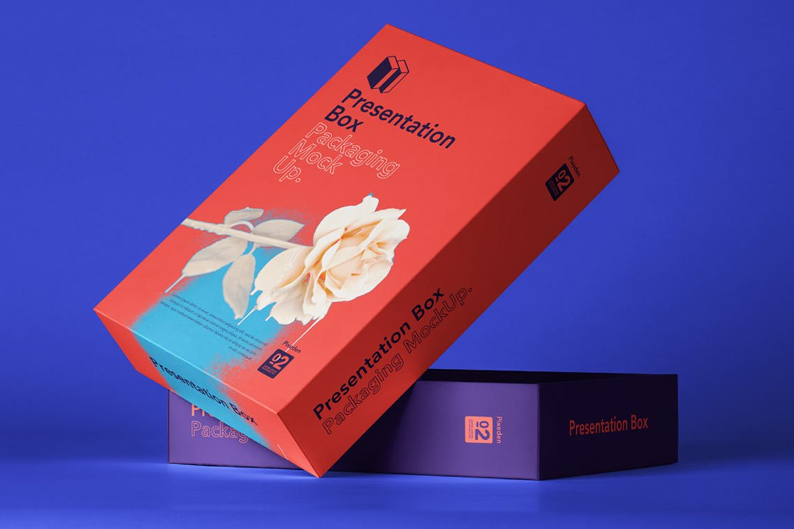 PSD Box Packaging Mockup