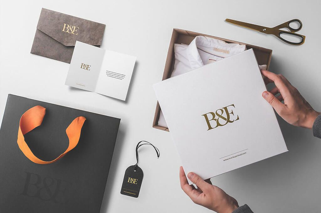 Box Packaging Mockup Kit