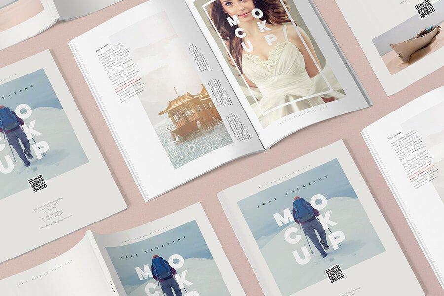 Creative PSD Magazine Mockup