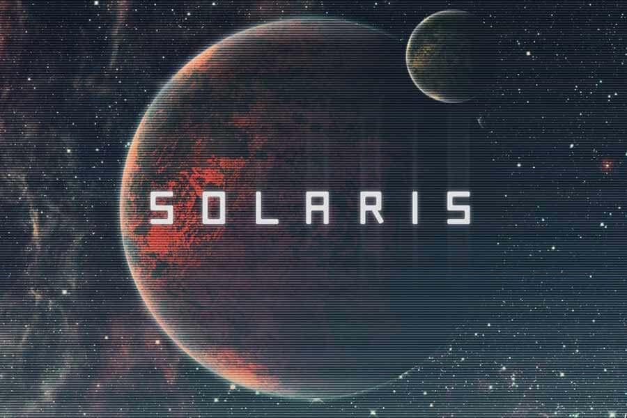 Solaris Space Font