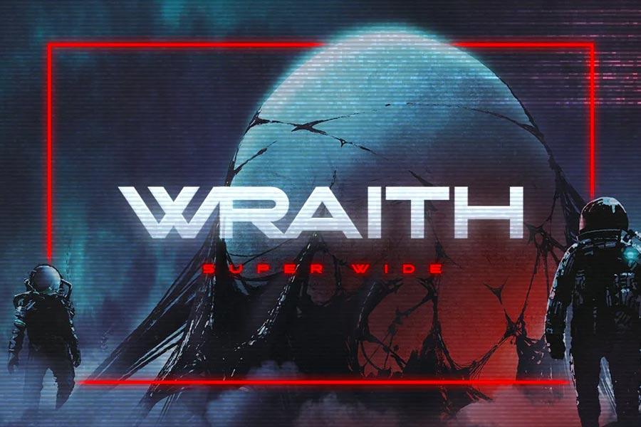 Wraith Futuristic Font