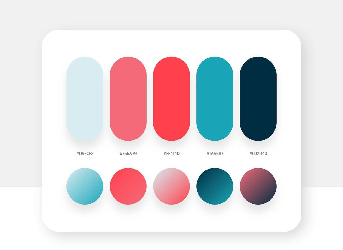 Mehdis Khodamoradi's Instagram color palette