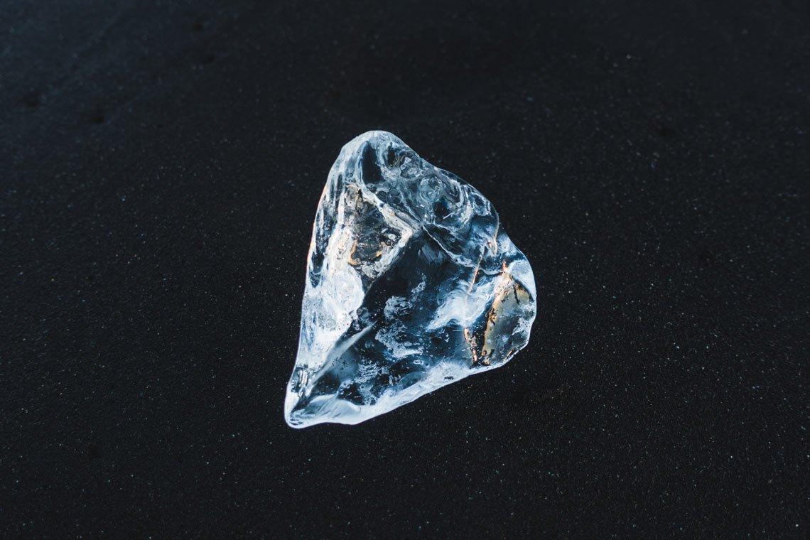 Black sand diamond by Hao Zhang @hharvey