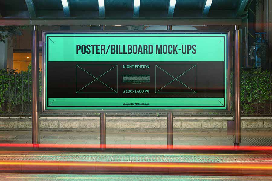 10 Urban Billboard Mockup