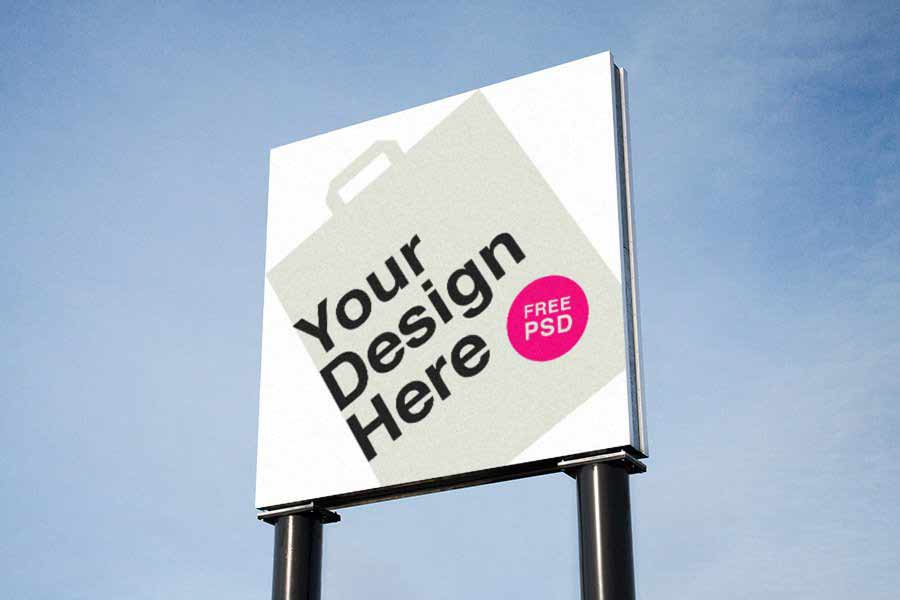 Advertising Billboard Mockup Set