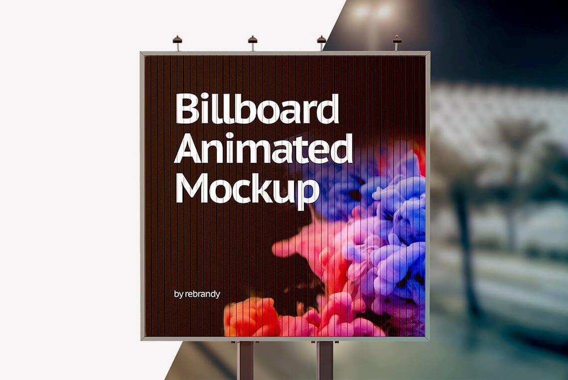 Billboard Animated Mockup