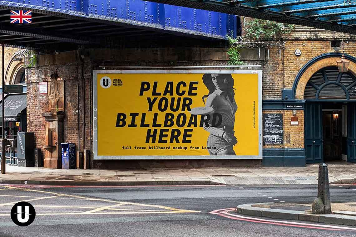 Billboard Banner Mockup