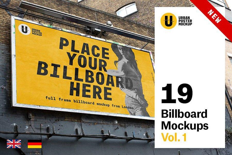 Billboard Mockup VOL.1