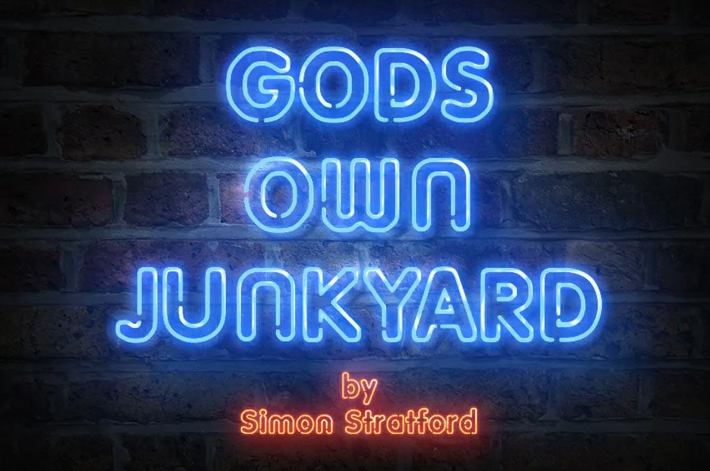 Gods Own Junkyard Neon Type