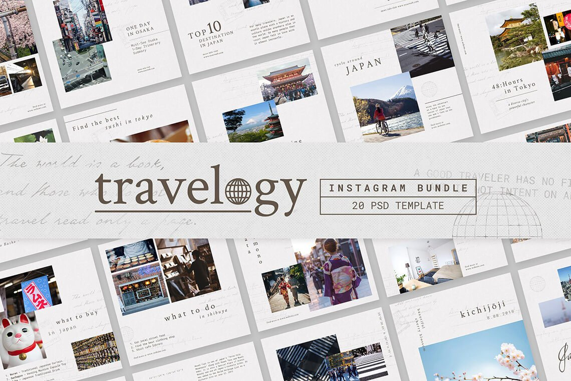 Instagram Bundle - TRAVELOGY