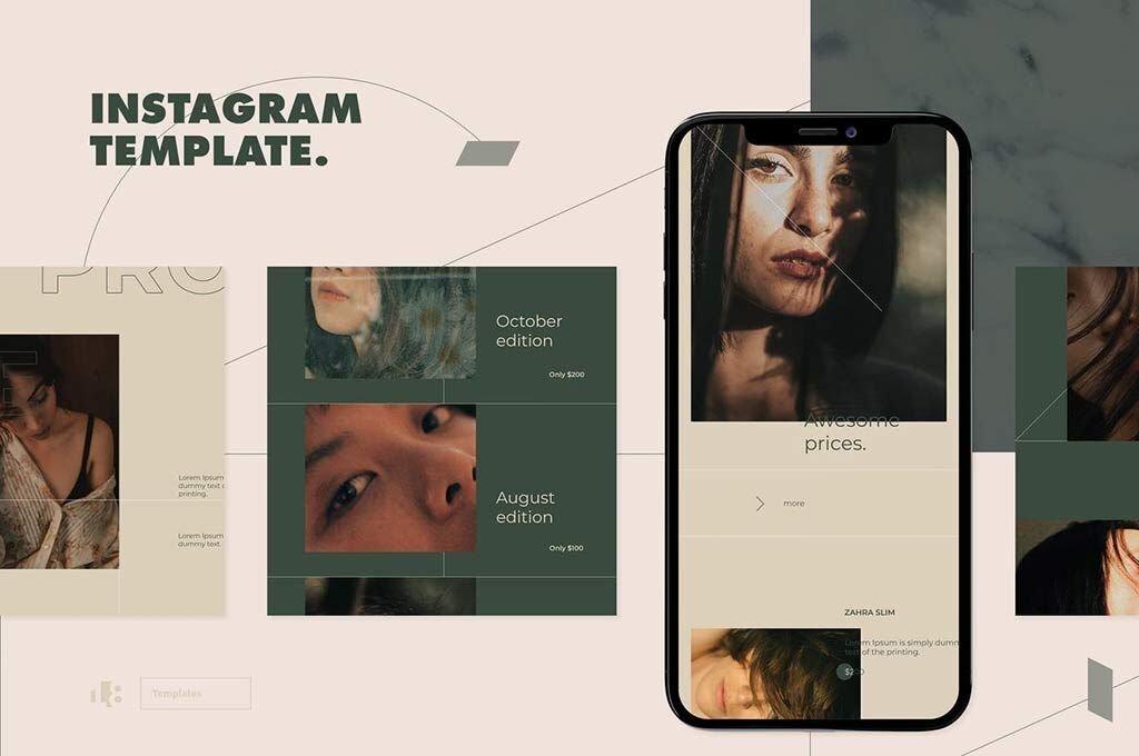 Modern Instagram Template