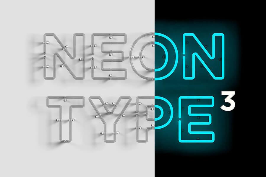 Neon Type 3Neon Type 3