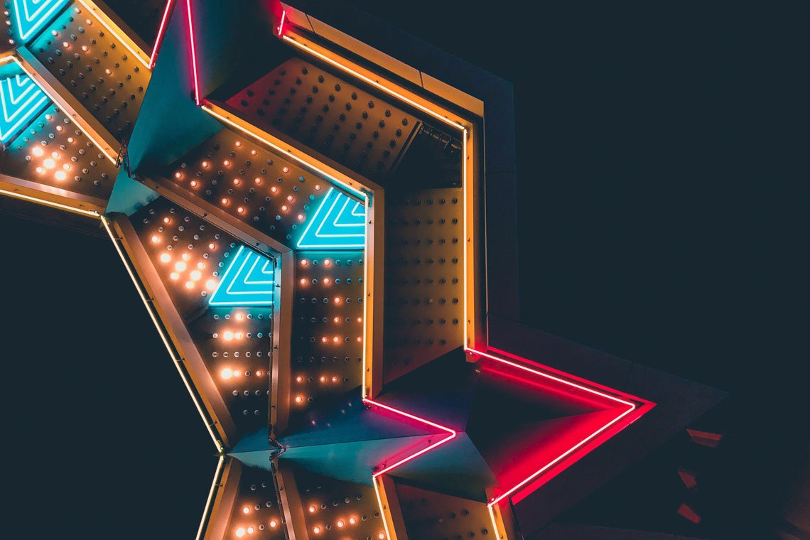 Neon casino by Patrick Tomasso