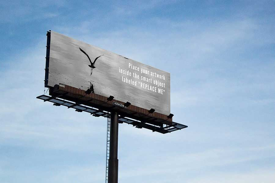 Photorealistic Billboard Mockup