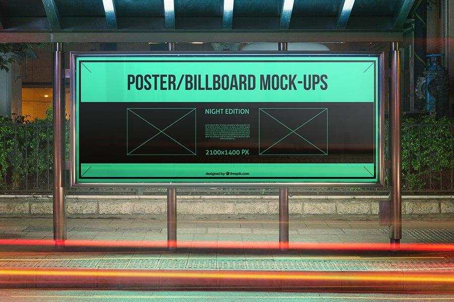 Urban Poster:Billboard Mockups