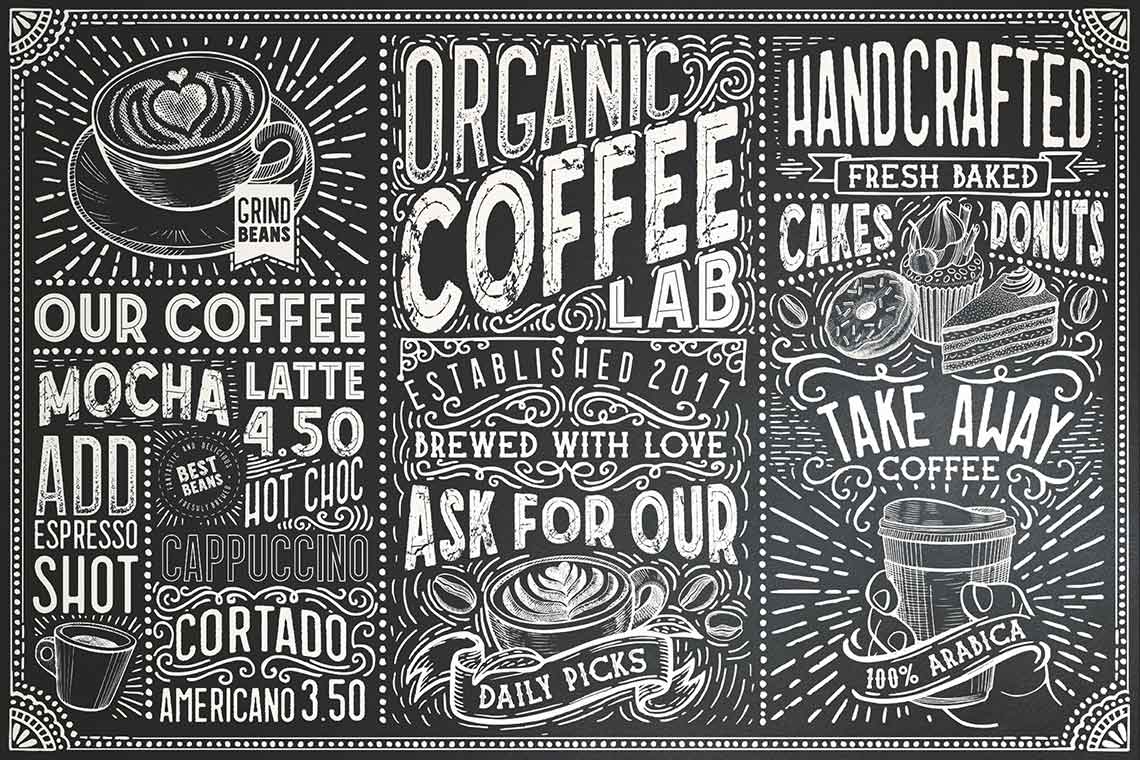 Coffee Font Collection