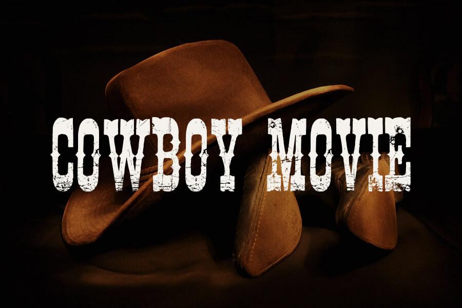 Cowboy Movie Font