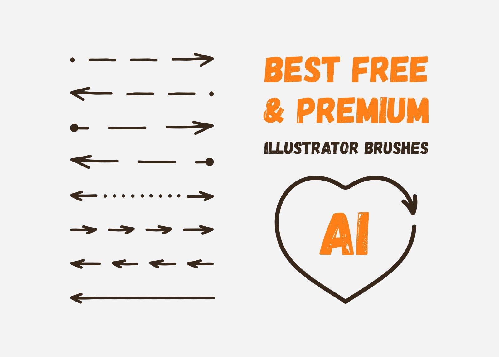 Free & premium Illustrator brushes