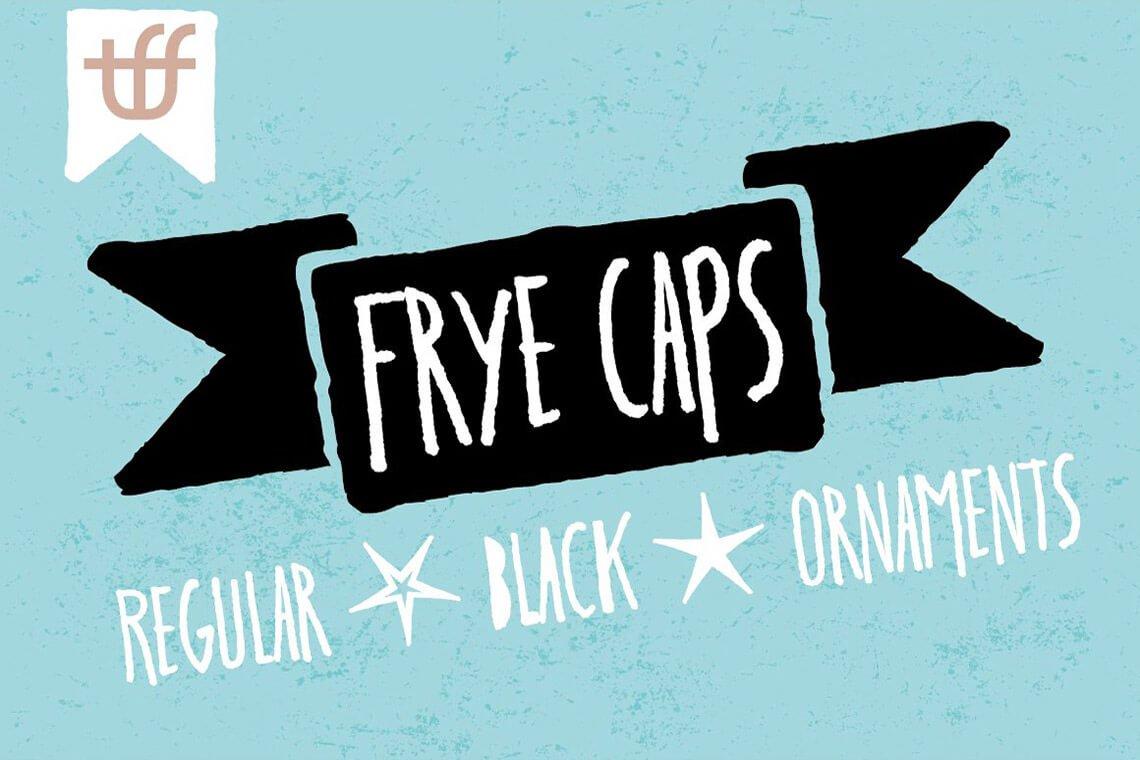 Frye Caps Font